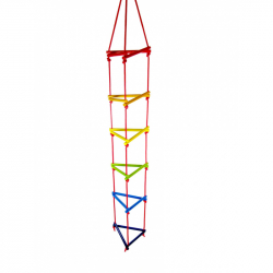 Hess Trojuholníkové lanový rebrík