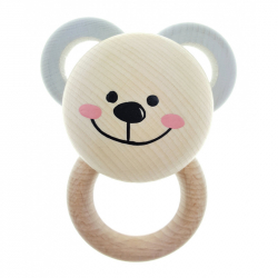 Hess Rattle Teddy Bear