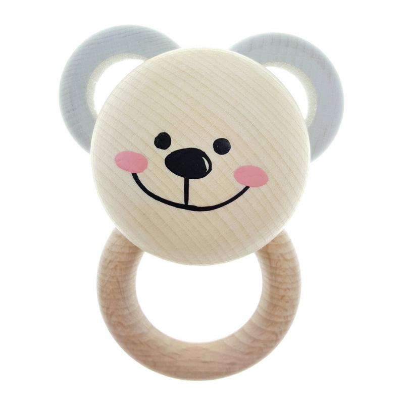 Hess Rattle Teddy Bear