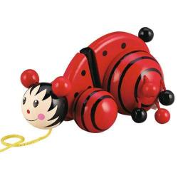 Drevené hračky - Ťahacie hračky - Ťahacia lienka