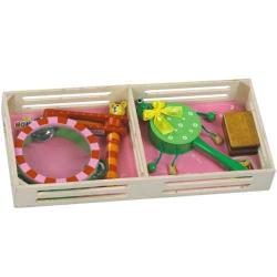 Drevené hračky - Detské hudobné nástroje - Sada B