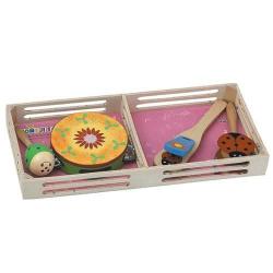 Drevené hračky - Detské hudobné nástroje - Sada A