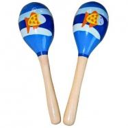 Dětské hudební nástroje - Dětské rumbakoule ryba