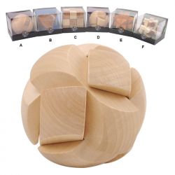 Hlavolamy - drevené 3D
