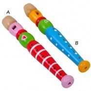 Dřevěné hudební nástroje  - Flétna
