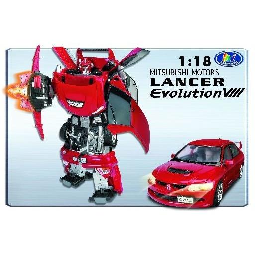 Road Bot Mitsubishi Evo VIII 1:18