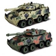 Tank 4WD - zpětné natahování
