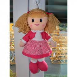 Bábika látková 30 cm