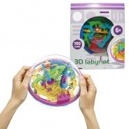 3D Magický labyrint 100 kroků