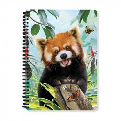 Skoroszyt 3D A5 Red Panda