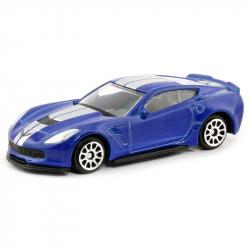 Auto Chevrolet Corvette C7 With Stripes