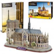 Puzzle 3D NG Notre Dame 128 dílků