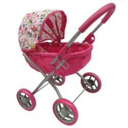 Wózek - różowy
