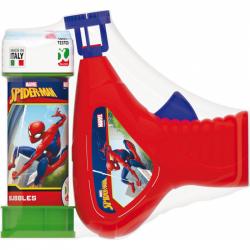 Pištoľ na bubliny Spiderman