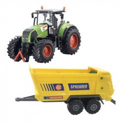 Traktor s prívesom 1:50