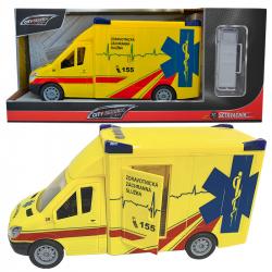 Ambulance na setrvačník