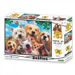 Puzzle 3D Dog selfie 48 sztuk
