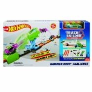 Hot Wheels track builder kaskadérská výzva
