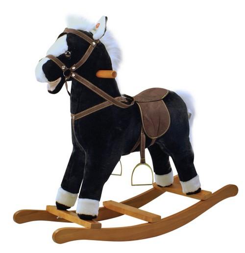 Houpací kůň Blacky se zvuky