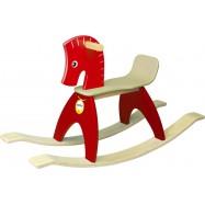 Houpací kůň Pony červený