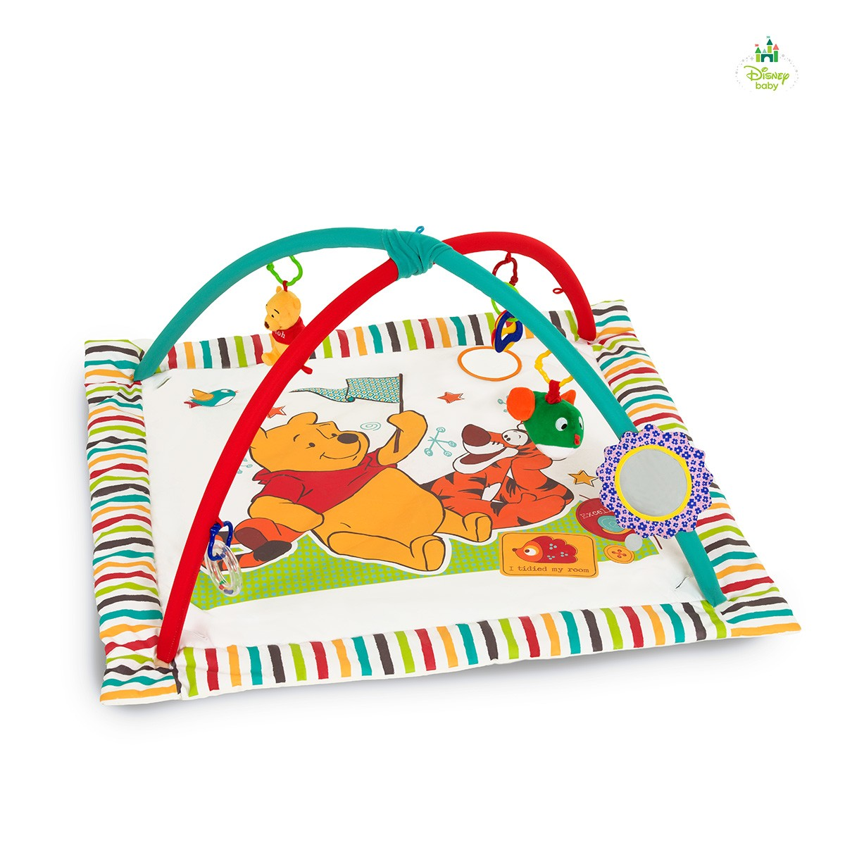 Hrací deka pooh 96 x 96 cm