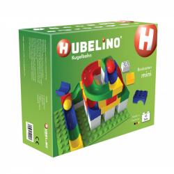 HUBELINO Kuličková dráha - set s kostkami Mini 45 ks