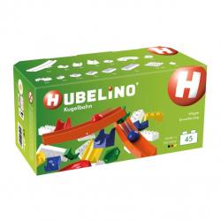 HUBELINO Kuličková dráha - rozšíření 45 ks, s kolébkou