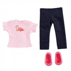 Obleček - Tropické tričko a džíny