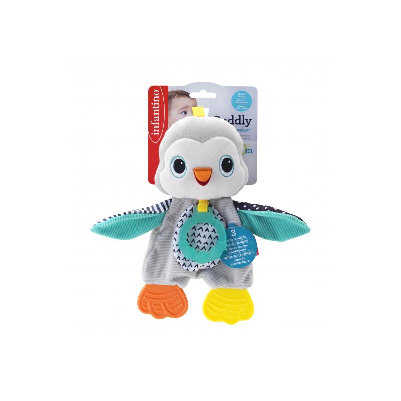 Muchláček tučniak s hryzátkami