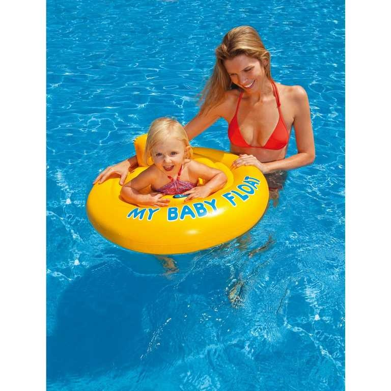 INTEX Baby kruh so sedadlom 56585