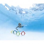Krúžky v desginu rybičiek potápačské