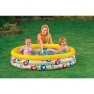 Bazén Geometrie 114x25 cm