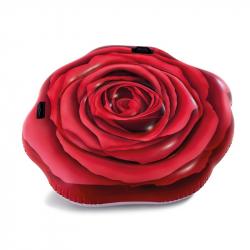Dmuchany materac plażowy Róża 137 x 132 cm INTEX 58783