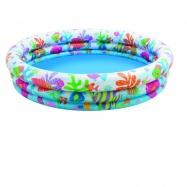Bazén s rybičkami 132x28cm