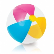 Nafukovací míč KLASIK průhledný, 61 cm