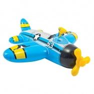 Intex Vodní vozidlo letadlo modré 132x130 cm 57537