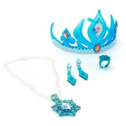 Kraina lodu: korona i biżuteria Elsy