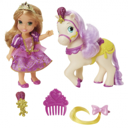 Disney princezny:  6' Locika a kůň