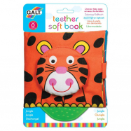 Książeczka dla dzieci z gryzakiem - Dżungla