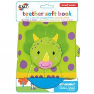 Książeczka dla dzieci z gryzakiem - dinozaury