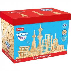 JEUJURA Drevená stavebnica TECAP 3XL 500 dielikov