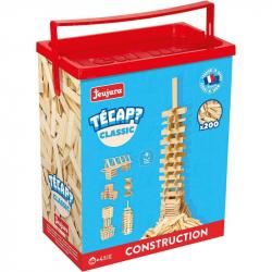 JEUJURA Drevená stavebnica TECAP 200 dielikov