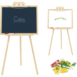 JEUJURA Drevená tabuľa Creative