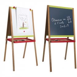 JEUJURA Drevená multifunční tabuľa Drawing veľká