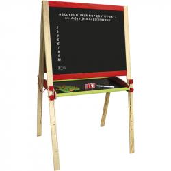 JEUJURA drevená multifunční tabuľa skladacia veľká