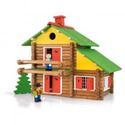 Dřevěná stavebnice Jeujura - 175 dílů
