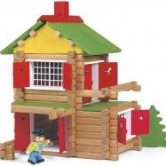Dřevěná stavebnice Jeujura - 135 dílů