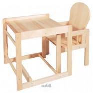 Dřevěná jídelní židlička Scarlett borovice