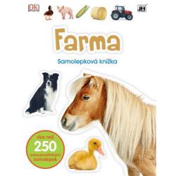 Knížka samolepková Farma