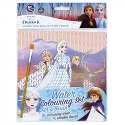 Omalovánka vodová se štětcem Frozen 2 - Ledové království